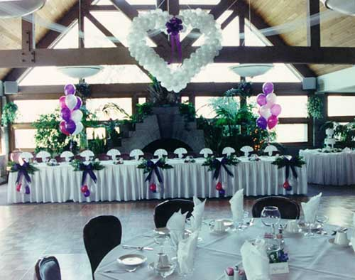 wedding ideas with hearts the balloon crew wedding decor 28358